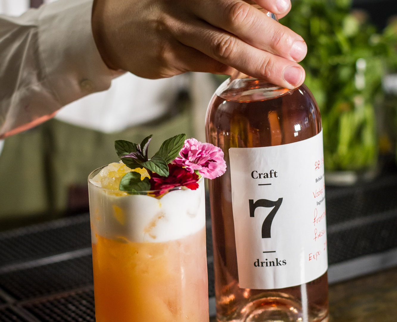 Cocktails | Hotel 7 Islas Madrid